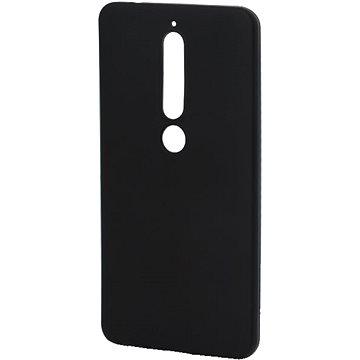 Epico Silk Matt pro Nokia 6.1 - černý (22210101300001)