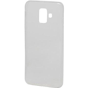 Epico Ronny Gloss pro Samsung Galaxy A6 (2018) - bílý transparentní (29410101000001)