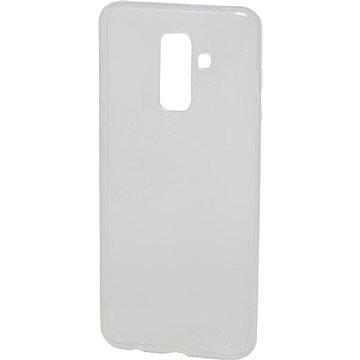 Epico Ronny Gloss pro Samsung Galaxy A6+ (2018) - bílý transparentní (29510101000001)