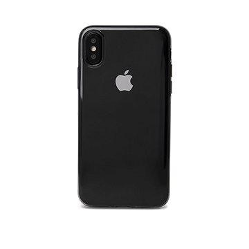 Epico Twiggy Gloss pro iPhone XR - černý transparentní (32910101200001)