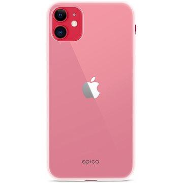 Epico SILICONE CASE 2019 iPhone 11 - bílý transparentní (42410101000003)