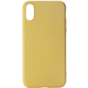 Epico CANDY SILICONE CASE iPhone X/XS - žlutý (24310102400001)
