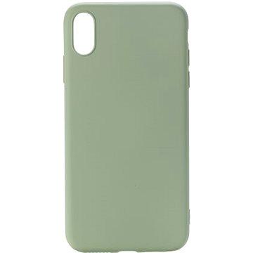 Epico CANDY SILICONE CASE iPhone XS Max - světle zelený (33010101500002)