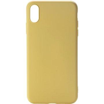 Epico CANDY SILICONE CASE iPhone XS Max - žlutý (33010102400001)