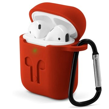 Epico OUTDOOR COVER Airpods Gen 1/2 - červená (9911101400004)