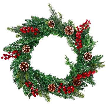 Vánoční dekorativní věnec typ 600-30204