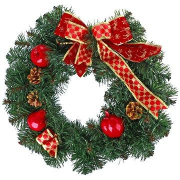 Vánoční dekorativní věnec typ 600-30220