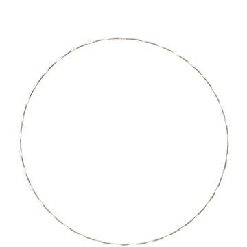 EUROLAMP Závěsné kroužky, 55 LED, 40 cm, IP44 (600-22414)