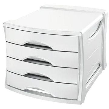ESSELTE Europost Vivida - zásuvkový box, bílý (623959)