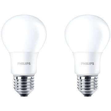 Philips LED 5-40W, E27, 4000K, matná, set 2ks (929001234661)