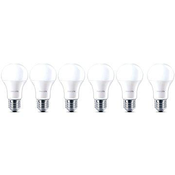 Philips LED 6-40W, E27, 2700K, Mléčná, set 6ks (929001171893)