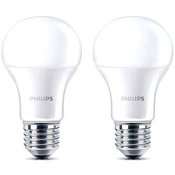 Philips LED 6-40W, E27, 2700K, Mléčná, set 2ks (929001234261)