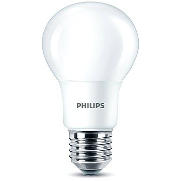 Philips LED 8-60W, E27, 2700K, matná (929001234301)