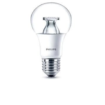 Philips LED 9,5-60W, E27, 2700K, Čirá (929001214401)