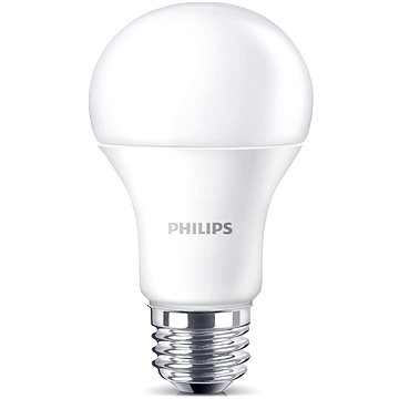 Philips LED 9.5-60W, E27, 3000K, Mléčná 1ks (929001162201)