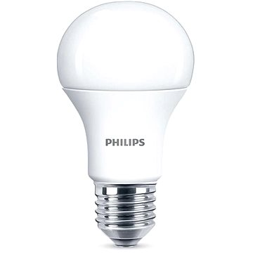 Philips LED 11-75W, E27, 2700K, Mléčná (929001234401)