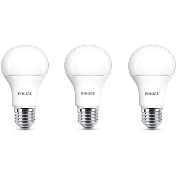 Philips LED 11-75W, E27, 2700K, Mléčná
