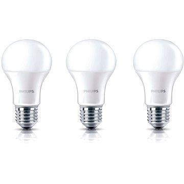 Philips LED 8-60W, E27, 2700K, matná, set 3ks (929001234381)