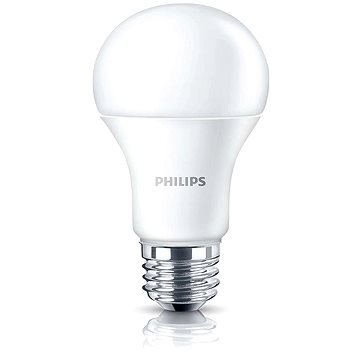 Philips LED 11,5-75W, E27, 2700K, Mléčná, stmívatelná (929001159031)