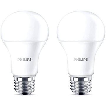 Philips LED 13-100W, E27, 2700K, matná, set 2ks (929001234561)