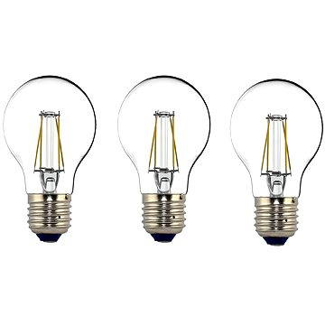 Philips LEDClassic Filament Retro 4-40W, E27, 2700K, čirá, set 3ks (929001237173)