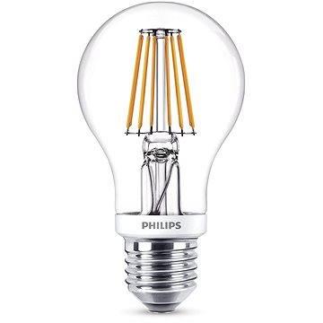 Philips LEDClassic Filament Retro 7.5-60W, E27, 2700K, čirá, stmívatelná (929001228001)