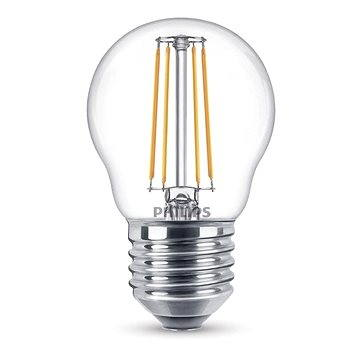 Philips LED Classic Filament kapka Retro 4-40W, E27, 2700K, čirá (929001258201)