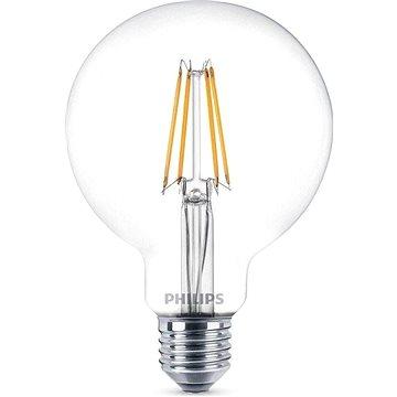 Philips LED Classic Filament Globe Retro 7-60W, E27, 2700K, čirá (929001387901)