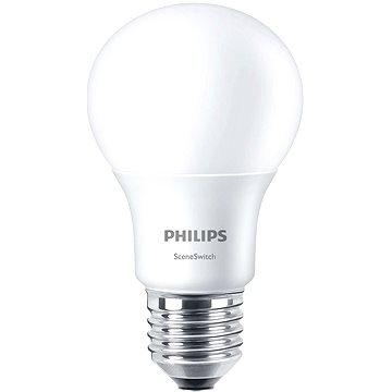 Philips LED SceneSwitch 60W, E27, 2700-4000K, matná (929001264101)