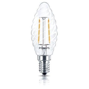 Philips LED Classic 2,3-25W, E14, 2700K, Číra (929001238501)