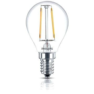 Philips LED Classic 2,3-25W, E14, 2700K, Čirá (929001238601)