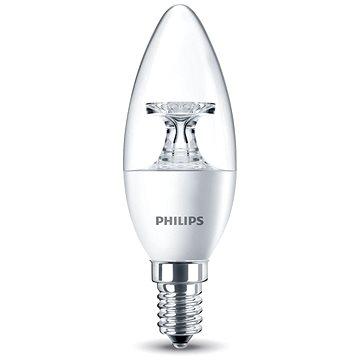 Philips LED Svíčka 5,5-40W, E14, 2700K, Čirá (929001142530)