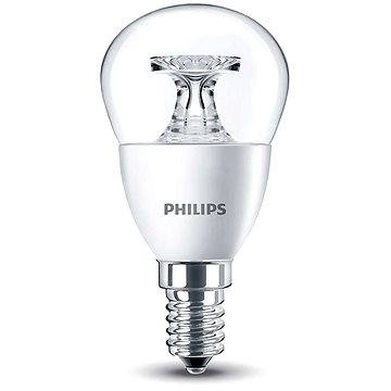 Philips LED Kapka 5,5-40W, E14, 2700K, Čirá (929001142630)