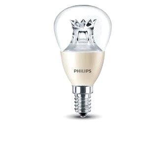 Philips LED Kapka 6-40W, E14, 2200-2700K WarmGlow, Čirá, stmívatelná (929001140630)