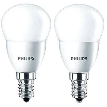Philips LED kapka 5.5-40W, E14, 2700K, matná, set 2ks (929001157860)