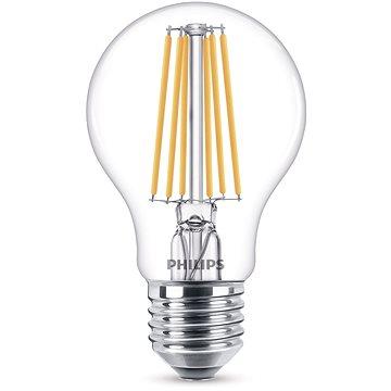 Philips LED Classic Filament 8-75W, E27, čirá, 2700K (929001384017)