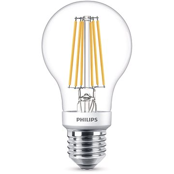 Philips LED Classic SceneSwitch Filament 60W, E27, 2700-2500-2200K, čirá (929001383817)