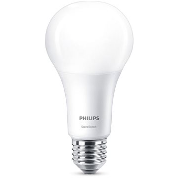 Philips LED SceneSwitch 100W, E27, 2700-2500-2200K, matná (929001336601)