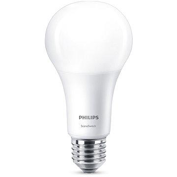 Philips LED SceneSwitch 100W, E27, 2700-4000K, matná (929001336801)