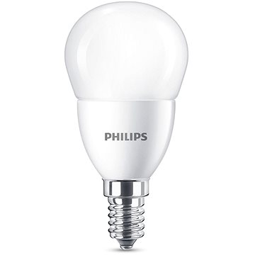 Philips LED kapka 7-60W, E14, Matná, 2700K (929001325201)