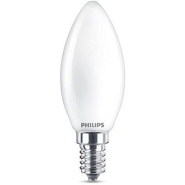 Philips LED Classic svíčka 4.3-40W, E14, Matná, 2700K (929001345317)