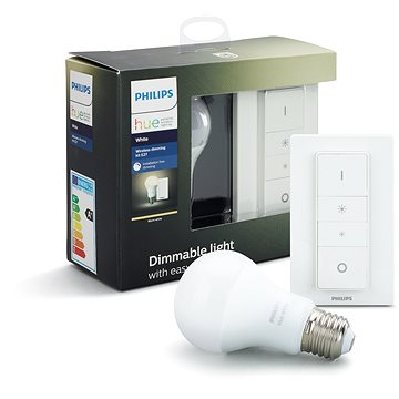 Philips Hue Wireless dimming kit + Philips Hue White 9W (929001137007)