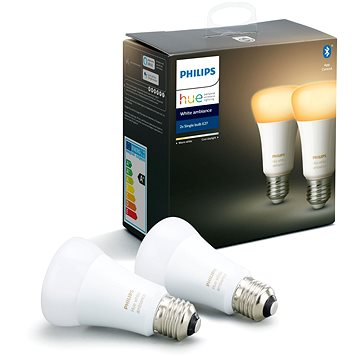 Philips Hue White Ambiance 8.5W A60 set 2ks (929001200163)