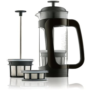 ESPRO Press P3 sklo/plast (1418C-BK)