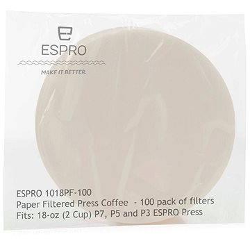 ESPRO Papírové kávové filtry pro P3, P5, P7 530ml (1018PF-100)