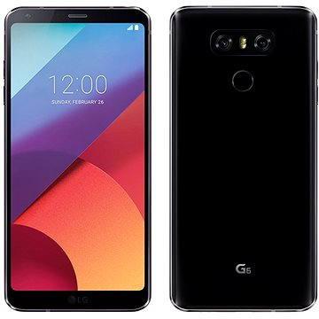 LG G6 Black + ZDARMA Digitální předplatné PC Revue - Roční předplatné - ZDARMA Digitální předplatné Interview - SK - Roční od ALZY Digitální předplatné Týden - roční