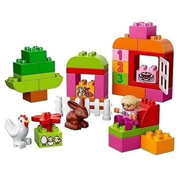 LEGO DUPLO 10571 LEGO DUPLO Růžový box plný zábavy (5702015115544)