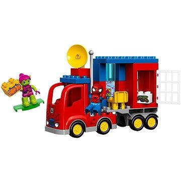 LEGO DUPLO 10608 Spidermanovo dobrodružství s pavoučím náklaďákem (5702015429733)