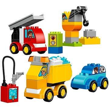 LEGO DUPLO 10816 Moje první autíčka a náklaďáky (5702015595285)