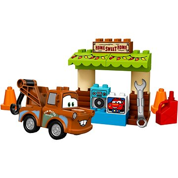 LEGO DUPLO Cars TM 10856 Burákova garáž (5702015866729)